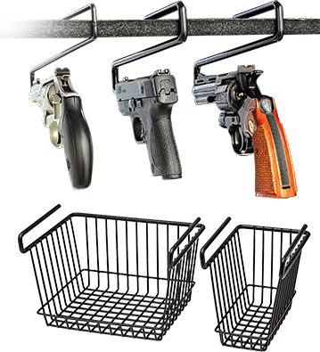 Handgun Hangers and Baskets